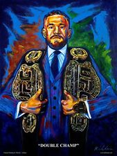 Conor McGregor Art Print By Killian Art