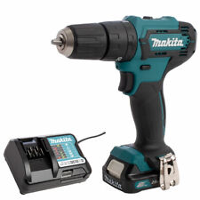 Makita HP333DZ 12V CXT MAX Slide Combi Drill with 1 x 2.0Ah Battery & Charger