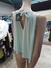Atmosphere Lovely Blouse Top Vest Size UK 12  New With Tags, Mint Colour