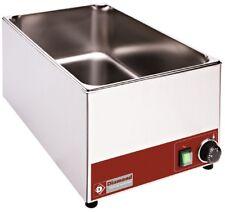 Elektro Bainmarie Warmwasserbad 0-90°C Tischmodel GN 1/1 330x530x240mm Gastlando