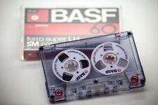Basf Audio Tape White handmade Reel to Reel Cassette Cassettes Tapes