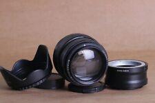 ⭐ Jupiter ⭐ JUPITER-9 85mm f/2 lens Portrait Russian M42 + Sony E NEX E-mount