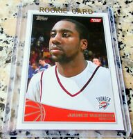 JAMES HARDEN 2009 Topps #1 Draft Pick Rookie Card RC Brooklyn NETS $$ HOT $$
