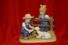 "Denim Days ""Baby Goat"" Figurine w/Tag #8807"