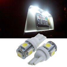 5X White Car Side Wedge Tail Light Lamp 10X T10 5050 W5W 5 SMD 194 Car Bulb LED