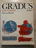 Kraft Gradus Text. Music Anthology. Part One. Leo Kraft