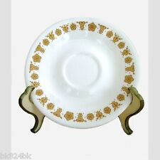 CORNING WARE Corelle Dinnerware Butterfly Gold Coffee Cup Saucer Plates 6 1/4""