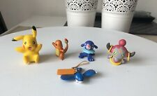 Nintendo Pokemon Tomy Figures Lot Of 5 Toys 2000's Bulk Collectable Loose