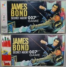 James Bond 1960s 007 Milton Bradley Game Connery Image Spy FACTORY SEALED Parts