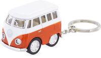 Original VW Bus Schlüsselanhänger T1 Bully Bulli Anhänger Taschenanhänger ORANGE