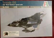 Italeri 2668 1/48 Scale Model Military Aircraft Kit Tornado IDS Black Panthers