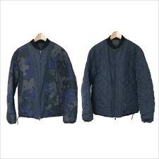 3.1 Phillip Lim 12AW digital duck pattern cotton reversible jacket Navy XS