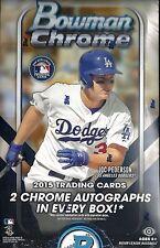 2015 Bowman Chrome Factory Sealed Baseball Hobby Box  Kris Bryant AUTO RC ??