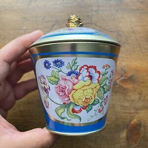 Sevres Porcelain Inspired Metal Tin Tea Plastic Wallace Collection London