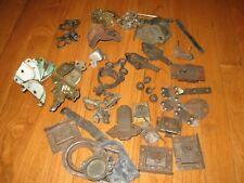 Antique & Vintage Hardware Lot Trunk Suitcase Box Corners Locks Latches Salvage