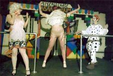 Org Amateur Semi Nude Large (10.25 x 7) Photo- Clown- Funhouse- Panties- Skirt 5