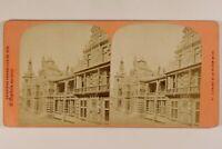 Francia Parigi Esposizione Universale 1878 Sezione Belgium Foto Stereo Albumina