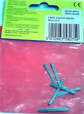 SCALEXTRIC C8075 6 GUIDE SHOE BRAID / BRUSHES 1/32 SLOT CAR PART