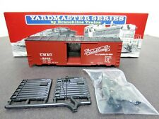 BRANCHLINE TRAINS YARDMASTER SERIES GM&O AAR 40' SINGLE DOOR BOXCAR SET