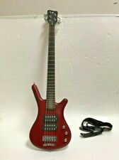 Warwick Rock Bass Corvette $$ 5-String Bass Guitar Burgundy Red, gig bag