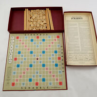 Vintage 1948-1953 Selchow & Righter Scrabble Board Game Complete