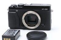 FedEx DHL N.MINT FUJI FUJIFILM X E2 16.3MP APS C Body Only JAPAN O0091