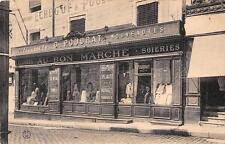 CPA 03 GANNAT MAGASIN AU BON MARCHE CONFECTIONS G.POUDRAT NOUVEAUTES SOIERIES (c