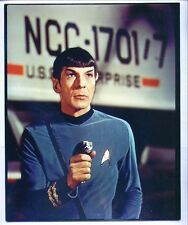 8x10 publicity photo LEONARD NIMOY Mr. Spock 1966 STAR TREK