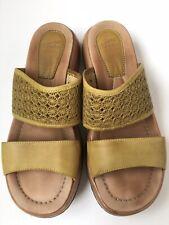 8cd03c95549 Dansko Leather Sandals Flip Flops Slides Sz 40 41