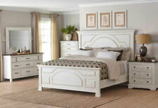 King White Rustic Bedroom Furniture Sets For Sale In Stock Ebay
