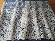 Superbe Bas d'aube textile religieux dentelle aux fuseaux fait main  - 69