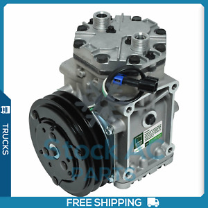 New AC Compressor York 210 For Freightliner/Kenworth/Peterbilt - 4379RD5112180