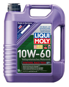 Liqui Moly Synthoil Race Tech GT1 Full Synthetic Engine Oil 10W-60 5L