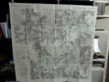 alte Landkarte Karte der Ötztaler Alpen 3