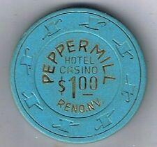 Peppermill Hotel $1.00 Casino Chip Reno, Nevada