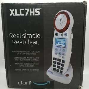 Clarity XLC7HS 59884.001 Expandable Handset for LC7BT Cordless Amplified Phone
