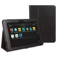 """Custodie e copritastiera neri per tablet ed eBook pelle , Dimensioni compatibili 8.9"""""""