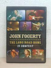 "JOHN FOGERTY DVD Live Concert "" THE LONG ROAD HOME "" Rare NTSC AUSTRALIAN"