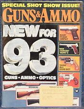 Magazine GUNS & AMMO February 1993 !! PARA-ORDNANCE P12.45 Semi-Auto PISTOL !!