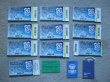 unused ticket + stub directors box cardiff v bristol city 14/8/11