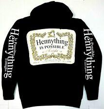 HENNYTHING IS POSSIBLE TONIGHT Hooded Sweatshirt Henny Pullover Hoodie Men's New