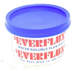 Everflux Flux 250ml Large Tub Water Soluble Plumbing Soldering Flux Paste