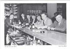 "*POSTCARD-""The EL GAUCHO Bar""--1959-- @ Seattle Wa. -CLASSIC- (#15)"