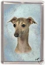 Italian Greyhound Fridge Magnet Design No2 by Starprint