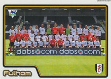 N°256 TEAM EQUIPE FULHAM.FC STICKER MERLIN PREMIER LEAGUE 2005