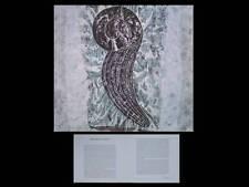 JAUME PLENSA - CARTON INVITATION EXPOSITION - 1989 - GALERIE GUIMIOT