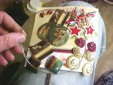 B14 Old Costume Jewelry Earrings Ear rings and Necklace