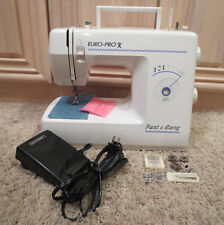 Euro-Pro 420 Free Arm / Flat Bed Sewing Machine