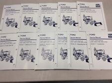 Ford New Holland 455D,555D,575D,655D,675D Tractor Loader Backhoe Service Manual
