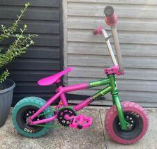 Rocker Irok+ Fade Mini Rocker BMX Bike Pink Green Freecoaster Rare Free Delivery